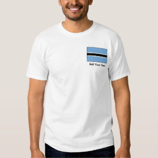 Botswana Flag Shirt