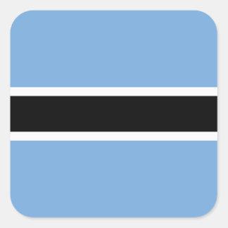 Botswana Flag Sticker