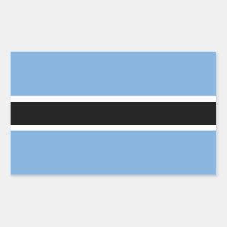 Botswana Flag Stickers