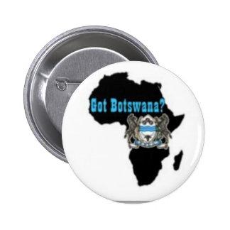 Botswana Flag T-Shirt & Etc Button