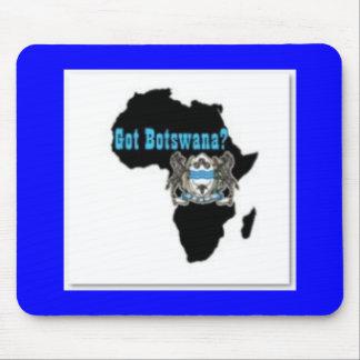 Botswana Flag T-Shirt & Etc Mouse Pad