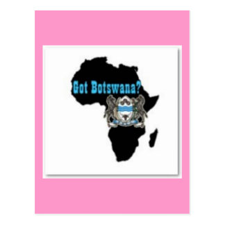 Botswana Flag T-Shirt & Etc Postcards