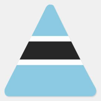 Botswana Flag Triangle Sticker
