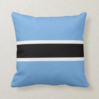 Botswana Flag x Flag Pillow
