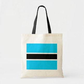 Botswana High quality Flag Tote Bags