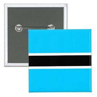 Botswana High quality Flag Pins
