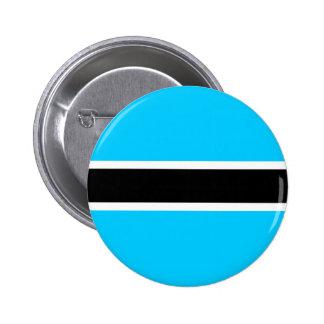 Botswana High quality Flag Button