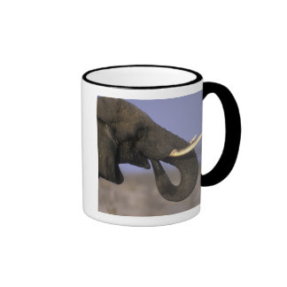 Botswana, Moremi Game Reserve, Bull Elephant Coffee Mug