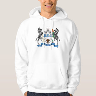 Botswana Official Coat Of Arms Heraldry Symbol Hoodie