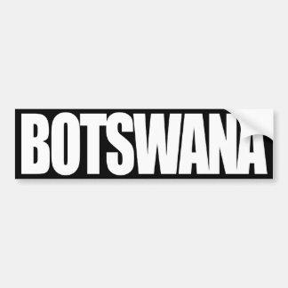 Botswana Pegatina Para Auto