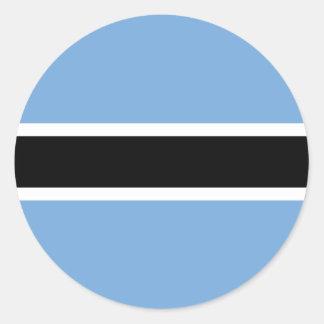 Botswana Pegatina Redonda