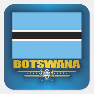 Botswana Pride Square Sticker