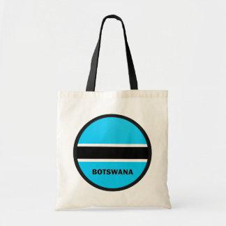 Botswana Roundel quality Flag Canvas Bag