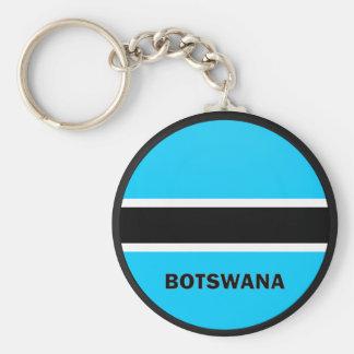 Botswana Roundel quality Flag Key Chains