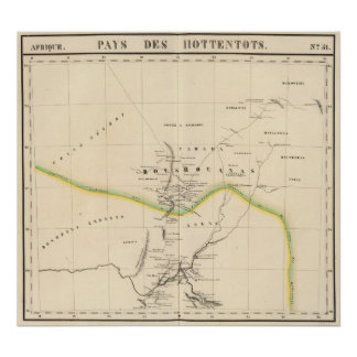 Botswana, Suráfrica 51 Póster