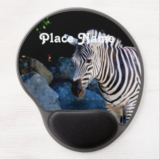 Botswana Zebra Gel Mouse Pad