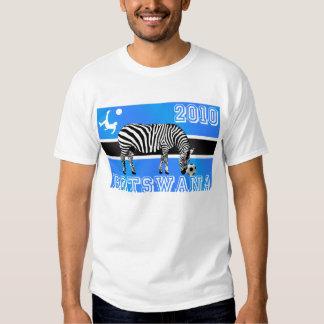 Botswana Zebras soccer 2010 t-shirt