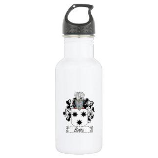 Botta Family Crest Water Bottle