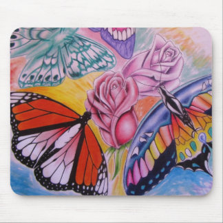 Botterflies Mouse Pad