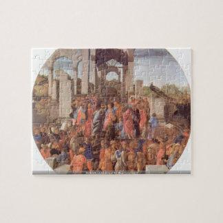 Botticelli - Adoration of the Magi (London) [2 puz Jigsaw Puzzle