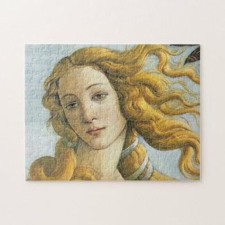 Botticelli Birth of Venus (detail) Puzzles