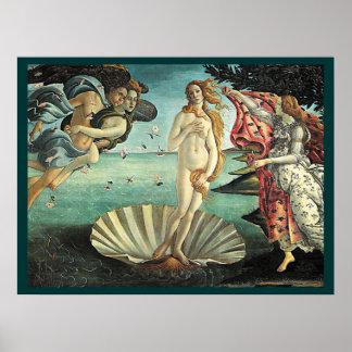 botticelli birth of venus poster