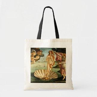 Botticelli Birth Of Venus Renaissance Art Painting Canvas Bags