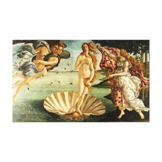 Botticelli Birth Of Venus Renaissance Art Painting Canvas Print