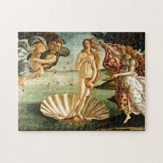 Botticelli Birth Of Venus Renaissance Art Painting Jigsaw Puzzle