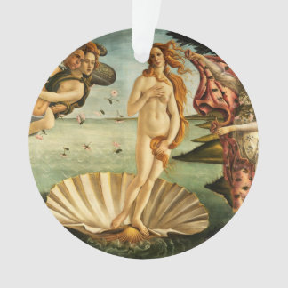Botticelli Birth Of Venus Renaissance Art Painting Ornament