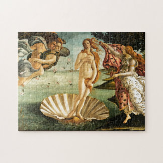 Botticelli Birth Of Venus Renaissance Art Painting Puzzles
