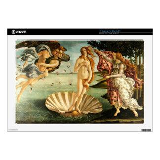 "Botticelli Birth Of Venus Renaissance Art Painting 17"" Laptop Skin"