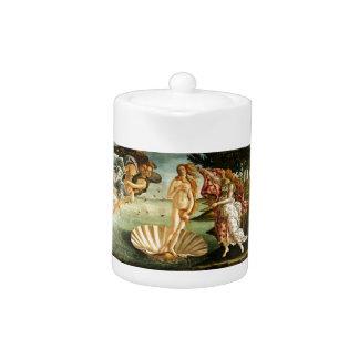 Botticelli Birth Of Venus Renaissance Art Painting Teapot