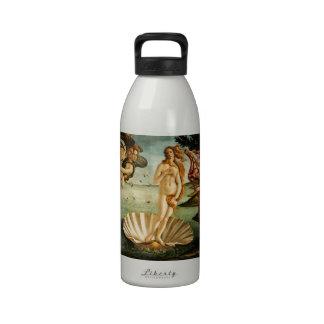 Botticelli Birth Of Venus Renaissance Art Painting Reusable Water Bottles