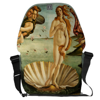 Botticelli Birth Of Venus Renaissance Vintage Art Courier Bag