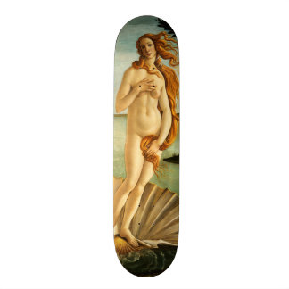 Botticelli Birth Of Venus Renaissance Vintage Art Skateboard Deck