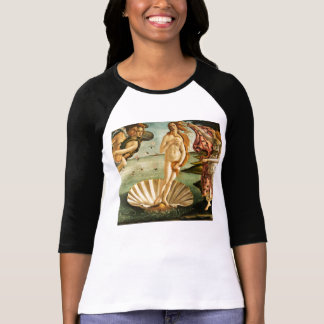 Botticelli Birth Of Venus Renaissance Vintage Art T-Shirt