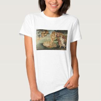 Botticelli el nacimiento de la camiseta de Venus Camisas