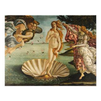 Botticelli el nacimiento de las invitaciones de Ve Anuncio