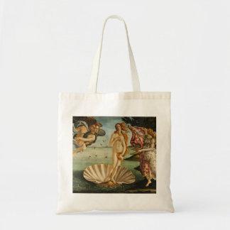 Botticelli el nacimiento de Venus Bolsa Tela Barata