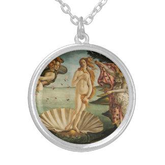 Botticelli el nacimiento del collar de Venus