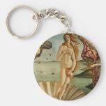 Botticelli el nacimiento del llavero de Venus