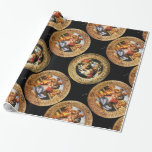 BOTTICELLI MADONNA OF POMEGRANATE AND MAGNIFICAT GIFT WRAP