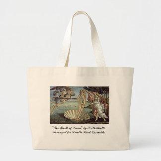 Botticelli, nacimiento de Venus, para las cañas do Bolsa De Mano