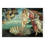 Botticelli - nacimiento de Venus Tarjeta De Felicitación