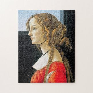 Botticelli Portrait of a Young Woman Puzzle