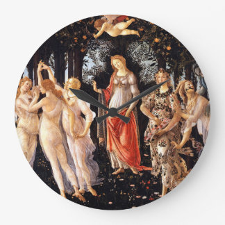 BOTTICELLI -Primavera 1482 Large Clock