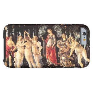 Botticelli Primavera /Allegory de la primavera Funda De iPhone 6 Tough