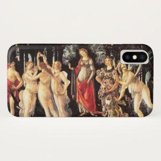 Botticelli Primavera /Allegory of Spring iPhone X Case