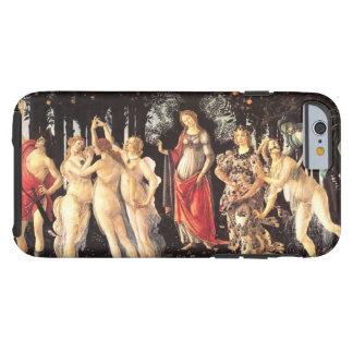 Botticelli Primavera /Allegory of Spring Tough iPhone 6 Case